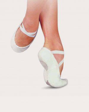 mezza punta sansha bianco napoli ballet